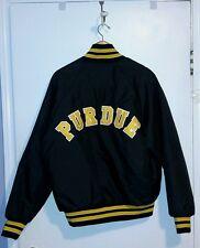 Purdue Boilermaker Vintage Jacket Black XL Harvard Clothing