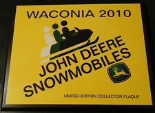 2010 Waconia Ride In John Deere Limited Edition Collectible Plaque