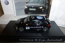 VW VOLKSWAGEN SCIROCCO R-CUP #18 AUTOSTADT 2010 BLACK SPARK 1k1099300D041 ERDGAS