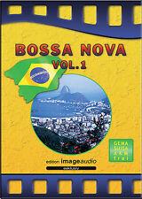 BOSSA NOVA VOL. 1 CD - LATIN - GEMAFREIE MUSIK LIZENZFREI ROYALTY FREE AKM FREI