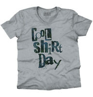 Cool Day Funny Sarcastic Workout Lazy Gift V-Neck Tees Shirts Tshirt T-Shirt