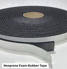 Adhesive Neoprene Rubber Foam Sealing Tape / Various Sizes