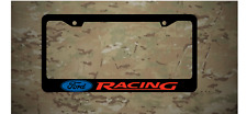 Ford Racing Logo Plastic License Frame Vinyl Mustang Fusion Focus Red Blue