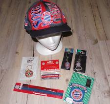 FC Bayern München 7 tlg. Fanpaket Schlüsselanhänger Basecap Armband Zahnbürste