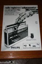 AO1=1972=PHILIPS RADIO REGISTRATORE=PUBBLICITA'=ADVERTISING=WERBUNG=