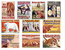 RINGLING BROS. CIRCUS POSTER PHOTO-FRIDGE MAGNETS