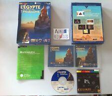 Egypte temps des pharaons (éducatif) PC/MAC FR Big Box