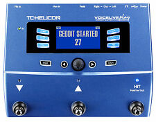 TC Helicon Voicelive Play Reverb Delay Vocal Harmony Doubler Effects Processor