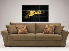 "ZOMBOY MOSAIC 35""X25"" INCH WALL POSTER DJ DUBSTEP"