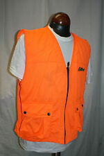 Fieldline Ventilated Blaze Orange Safety Cover Vest Medium Large Hunting 1B5