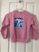 Cows Ice Cream Sweatshirt By Kitty Kats W/ Olaf Frozen- Size 5/6- Vguc