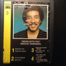 """Smokey Robinson """"Being With You"""" 8 track tested, nice album"""