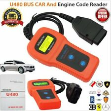 CAR-CARE U480 CAN OBD2 Diagnostic Scanner Engine Code Reader in Blister Pack