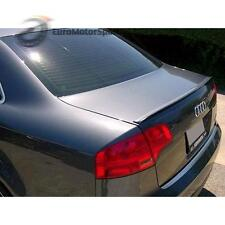 @ 06-08 Audi A4 S4 B7 Saloon Trunk Boot Lip Spoiler Wing Unpainted
