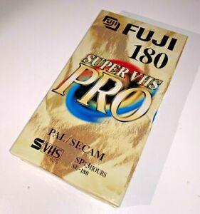FujiFilm Pro E-180 S-VHS Format Video Tape, brand new & unused