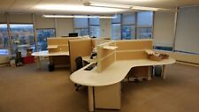 Used Office Cubicles, Allsteel Terrace Cubicles