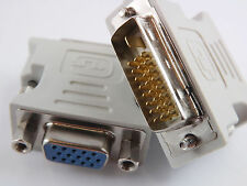 DVI-D 24+1 zu/auf VGA Digital Adapter D-Sub PC TFT Monitor Beamer Buchse Stecker