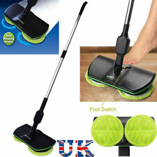 UK Electric Rechargeable Cordless Floor Cleaner Scrubber Sweeper Polisher Mop