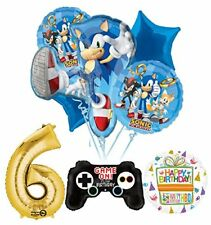 The Ultimate Sonic The Hedgehog 6th Birthday Party Supplies