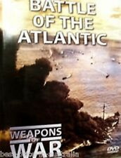 WEAPONS OF WAR - Battle Of The Atlantic DVD +  BOOK WORLD WAR TWO BRAND NEW R0