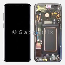 New Gray LCD Touch Screen Digitizer Frame Replacement For Samsung Galaxy S9 Plus