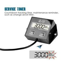Digital Tach Hour Meter Tachometer Gauge Fit For Gas Engines Q7E5