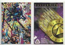 "1994 PYRAMID ""VALIANT ERA 2"" UNIVERSE PROMO TRADING CARD - V/GOOD CONDITION"