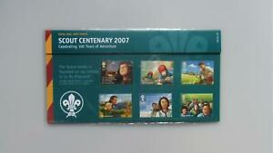 2007 G.B Presentation Pack - Scout Centenary - Pack 400