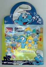 Mega Bloks Smurfs GOLDEN SMURFETTE Smurf Action Figure NIP Blind Pack Blocks