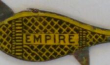 Vintage 1880s Empire Tin Tobacco Tag