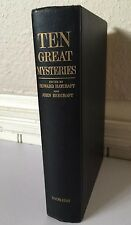Ten Great Mysteries Doubleday & Co. Inc. 1959 Book Antique Mystery Stories
