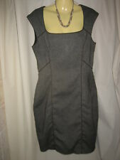 Portmans Sylish Stretchy Dress with Fishtail Frill Size 10-12