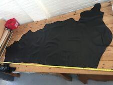Genuine Cow Leather 1.1-1.3mm Black Half Hide Top Quality Italian Big Size Skin