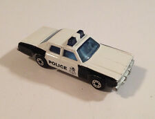 Matchbox Lesney 1979 Superfast #10 Plymouth Gran Fury Police Diecast Model 1:64