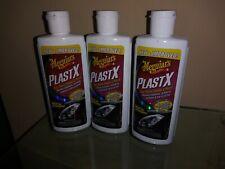 Meguiar's G12304 PlastX Clear Plastic Cleaner & Polish - 4 oz. 3 bottle