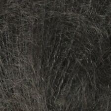 Berroco :Aerial #3423: mohair silk yarn Charcoal