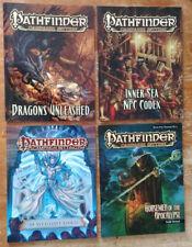 Pathfinder RPG - Lot of 4 Pathfinder Campaign Setting (Ex) paperback