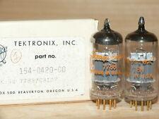 2 NIB Amperex 7788 Tubes (Tektronix) USA PQ GOLDPINS