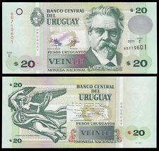 Uruguay 20 Pesos, 2011, P-86b, UNC
