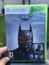 XBOX 360 Batman Arkham Origins Video Game Brand New Sealed Microsoft Rated Teen