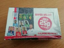 Topps England 2014 World Cup Brazil Complete SEALED 100 Pack Box of stickers UK