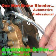 Car Motorcycle Brake Bleeder.. Bleeding Kit Clutch Caliper Nipple Fluid Tool Set