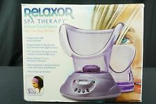 Relaxor Spa Therapy Deluxe Facial Sauna With Attachments NEW