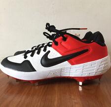 Nike Alpha Huarache Elite 2 Low Baseball Cleats Red/Black Size 12