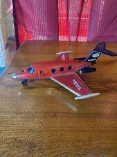 Vintage 1979 Tonka Red Learjet Plane Airplane Toy Hong Kong Rare Original