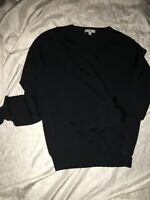 BURBERRY BLACK SWEATER SIZE M