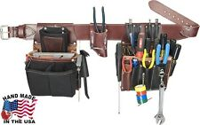 Occidental Leather 5590LG Commercial Electrician Tool Belt with 37 Pockets
