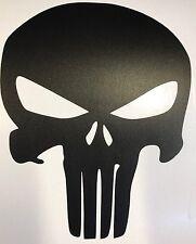 Vinyl Skull Sticker Punisher 180mm X 250mmCar Boat Bike Tool Box Matt Finish