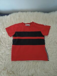 Moncler Red black white T-shirt 62cm 3-6 months