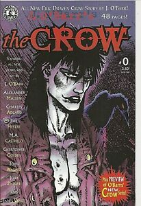 °THE CROW #0 A CYCLE OF SHATTERED LIVES° B&W 1998 KitchenSinkPress J. O'Barr